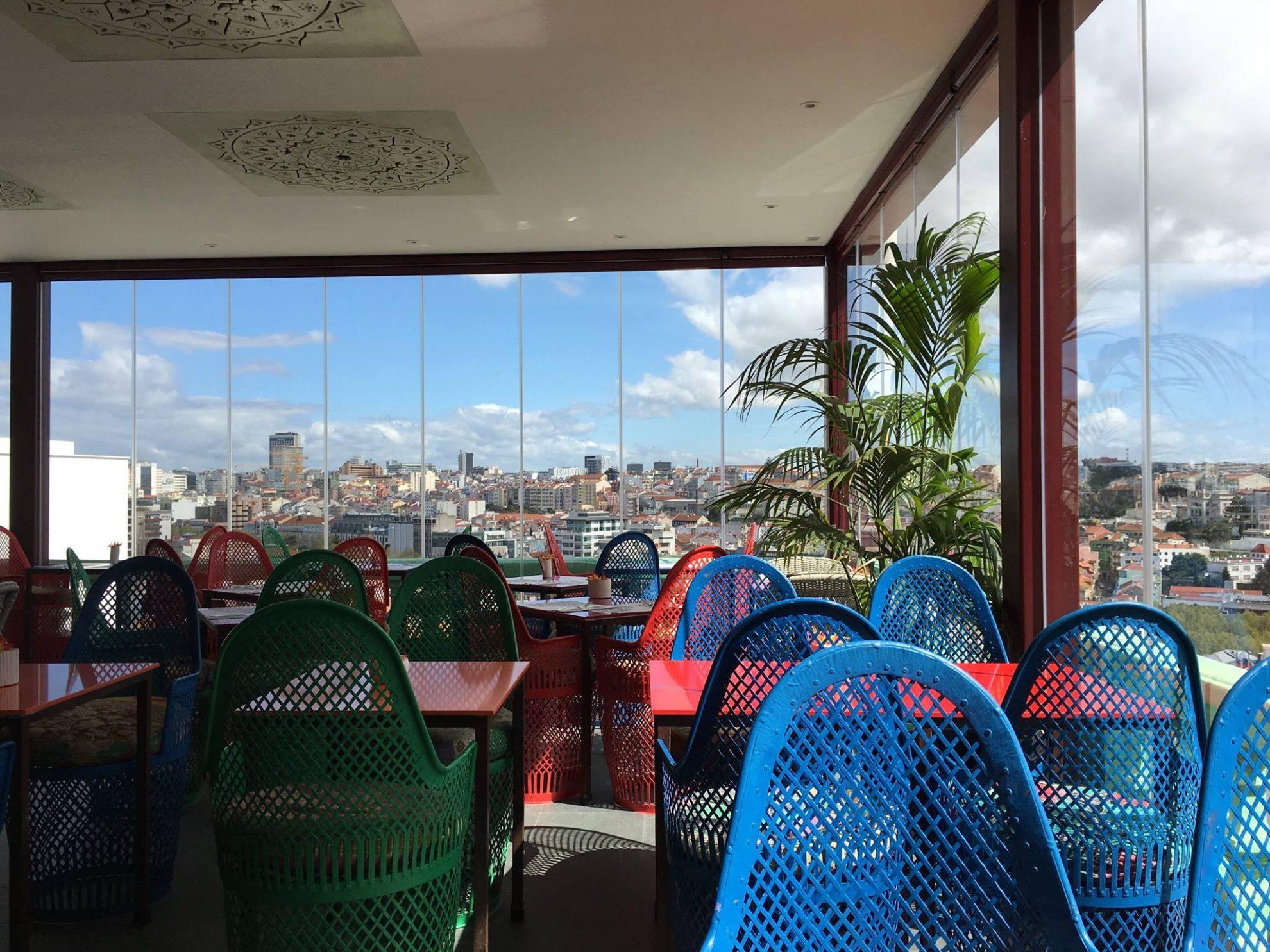 Lost Inn - Terrasse panoramique - Rooftop - Lisbonne