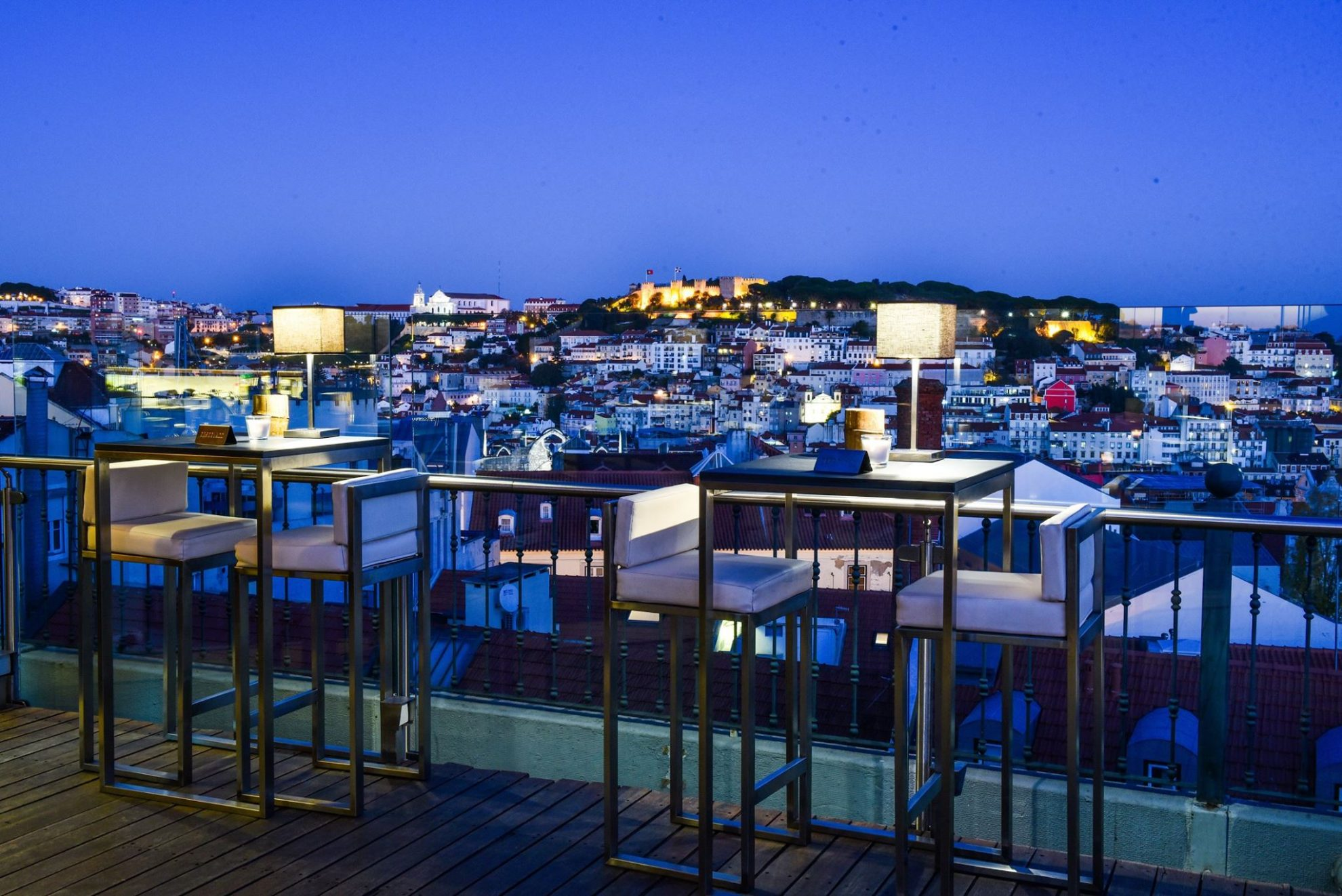 Silk Club - Terrasse Rooftop Lisbonne - Salon Exterieur