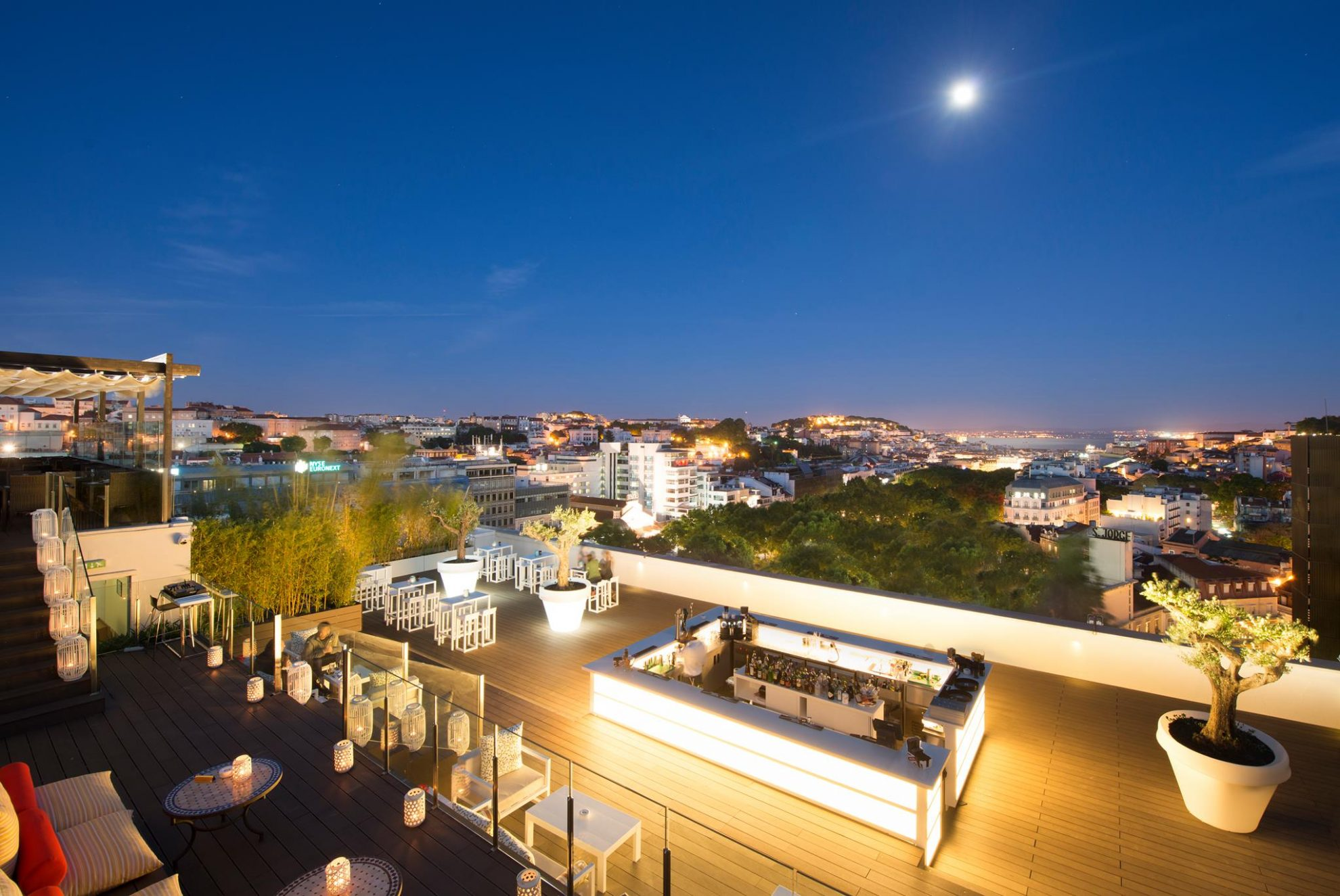 Sky Bar - Terrasse - Hotel Tivoli Lisbonne