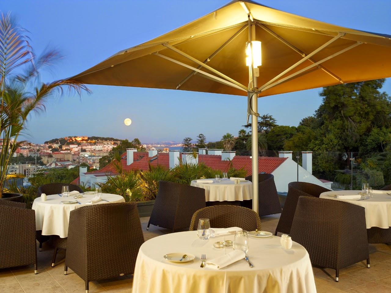 Varanda do Castelo - Rooftop Bar Hotel Vintage Lisboa - Lisbonne