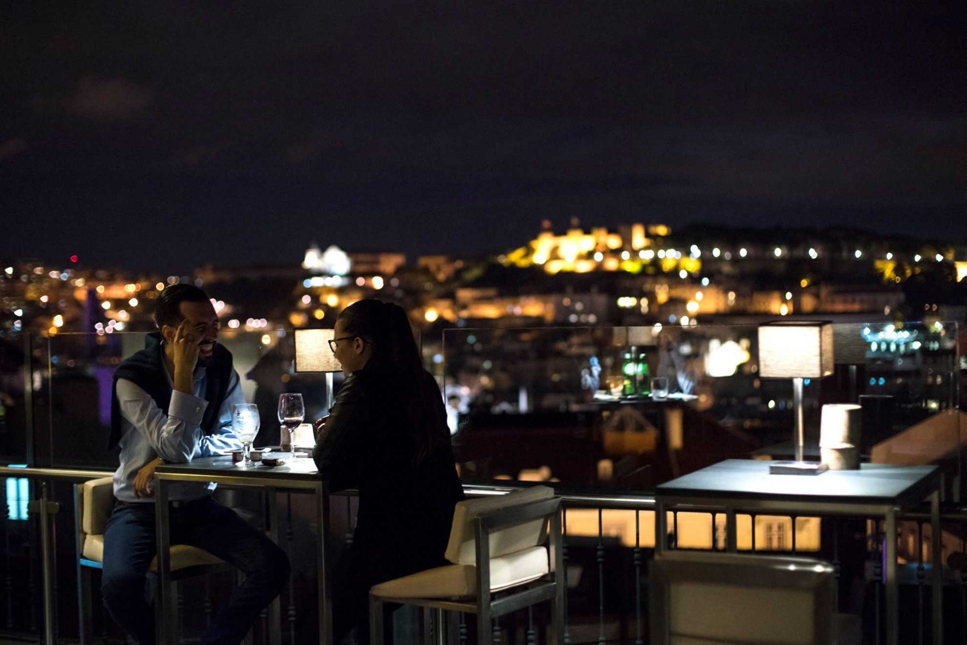 Silk Club - Night Club -Terrasse - Rooftop - Vue Lisbonne