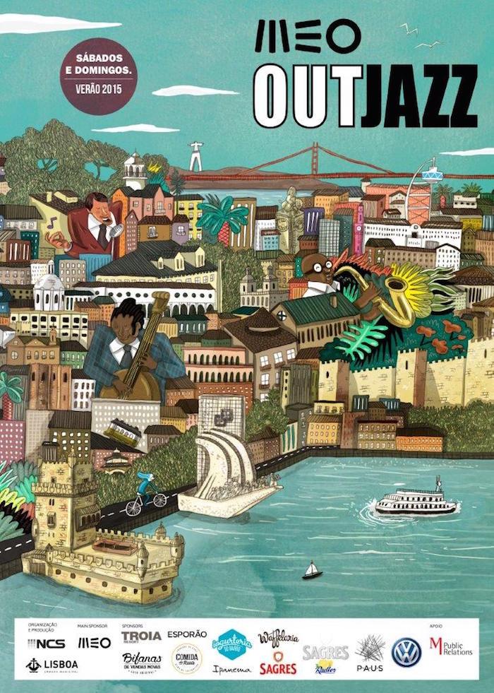 Meo Out Jazz Festival 2015 - Lisbonne