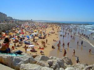 Plage de Costa da Caparica - Région de Lisbonne