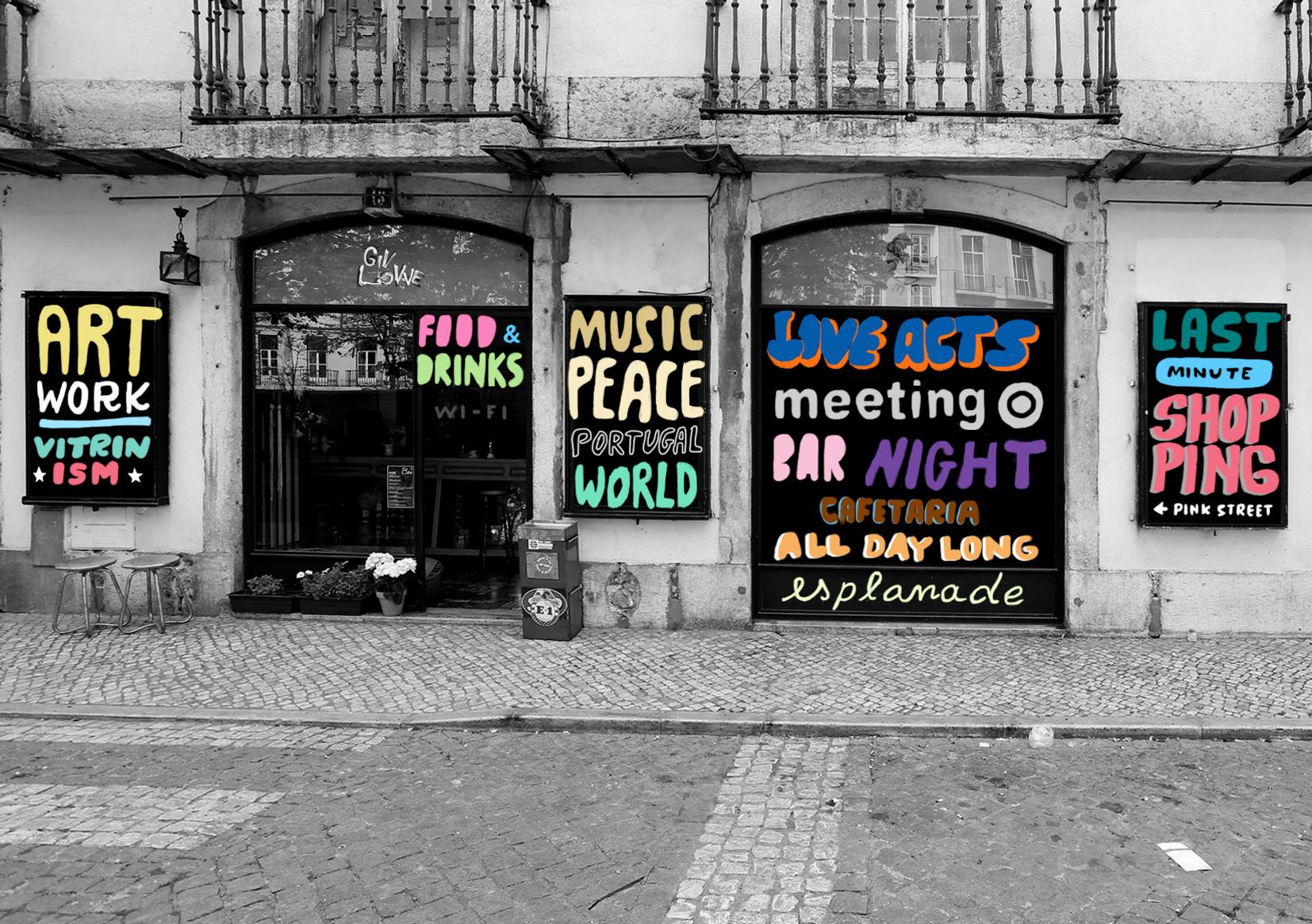 Giv Lowe - Lisbonne