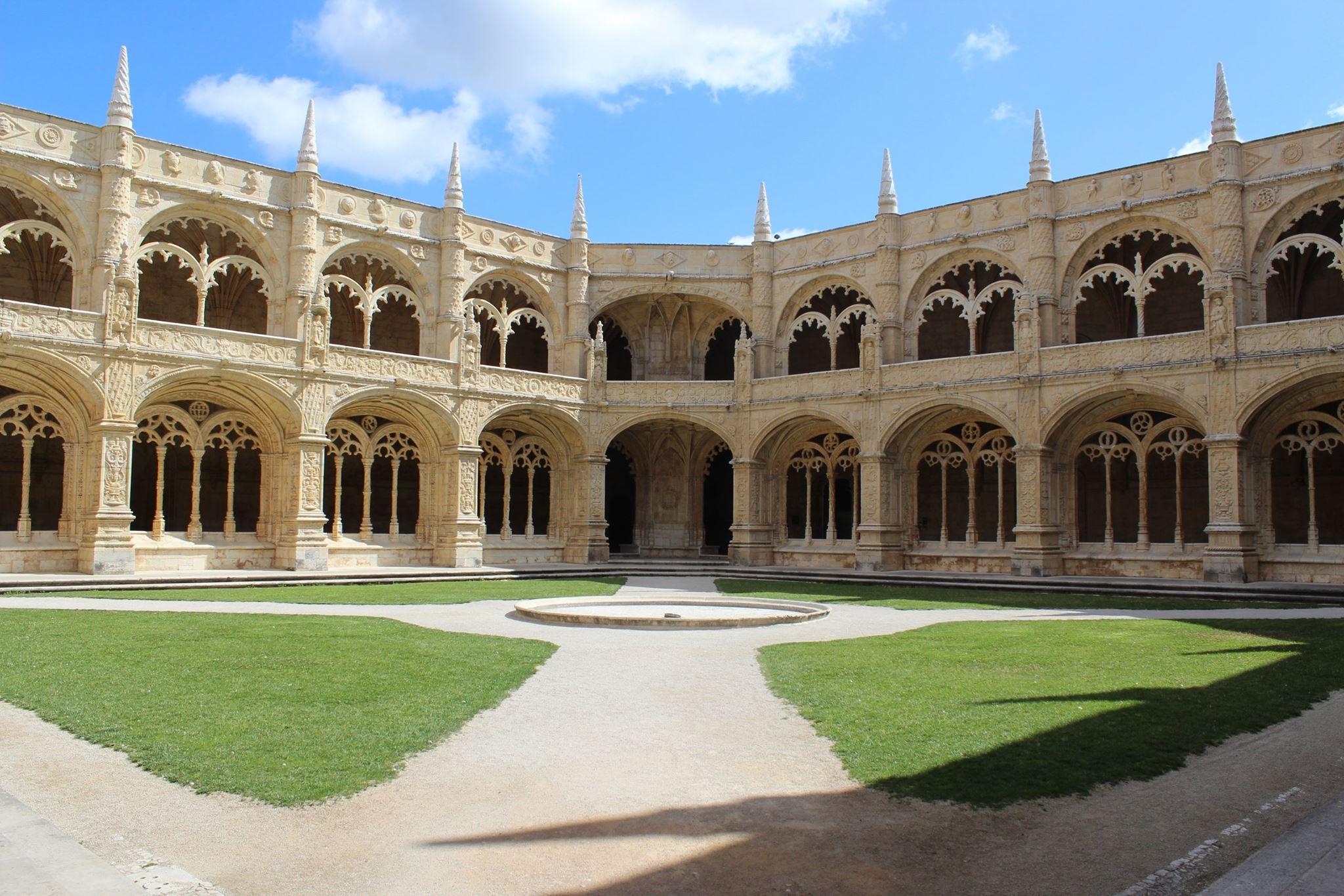 Cloître du Mosteiro dos Jeronimos - Lisbonne