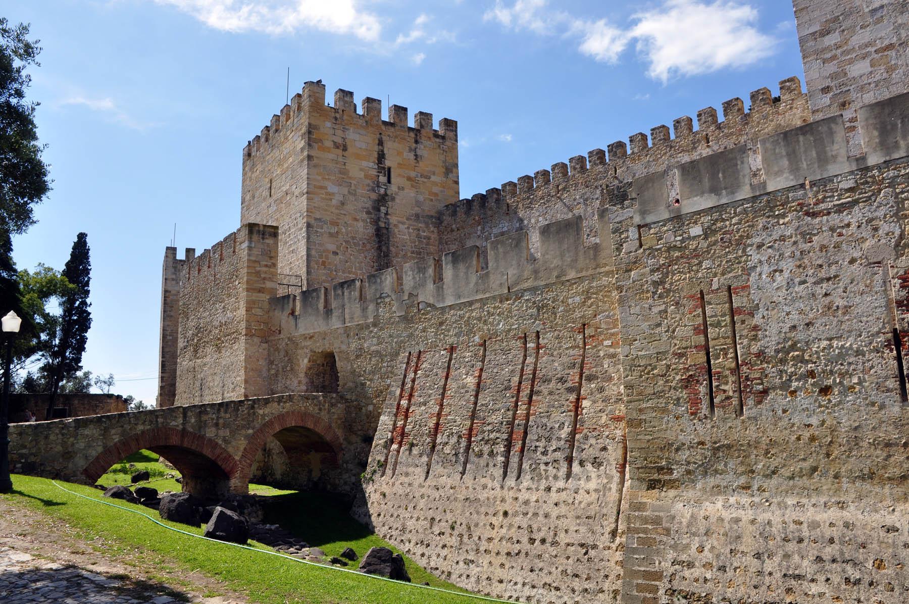 Chateau Saint Georges - Lisbonne - Portugal