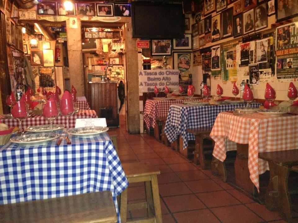 Tasca do Chico - Restaurant de Fado - Bairro Alto - Lisbonne