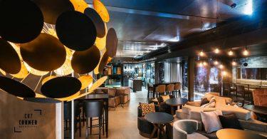 Salle Restaurant Cristiano Ronaldo Lisbonne - Hotel Pestana CR7 Lisboa