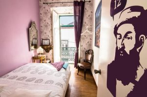 Alfama Patio Hostel - Chambre privee - Auberge de jeunesse Lisbonne