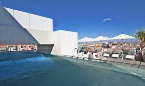 Hotel White Lisboa - Piscine exterieure - Lisbonne