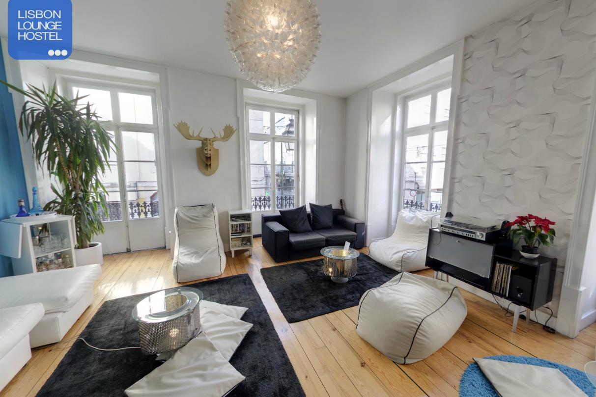 Lisbon Lounge Hostel - Salon - Auberbe de jeunesse Lisbonne