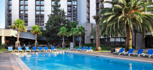 Lisbon Marriott Hotel - Piscine Exterieure - Lisbonne