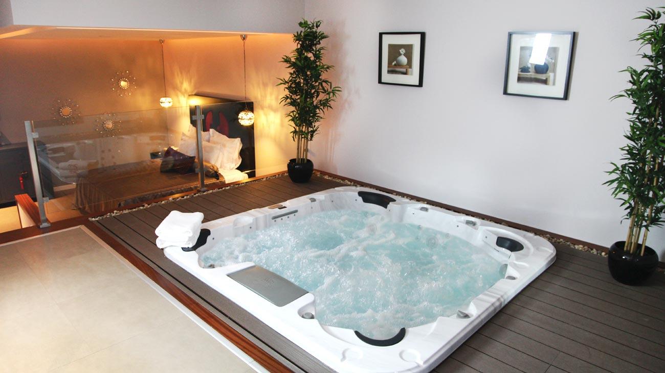 Les h tels de lisbonne avec jacuzzi priv week end et for Salle de bain jacuzzi