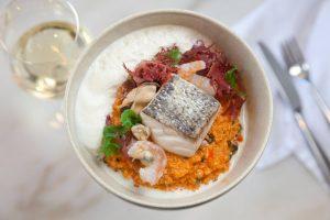 Quinoto do Mar (Risotto aux produits de la mer) - Plat de la Cevicharia - Restaurant Lisbonne
