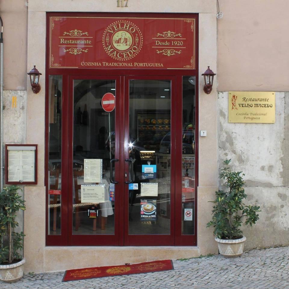 Velho Macedo - Restaurant traditionnel portugais - Lisbonne