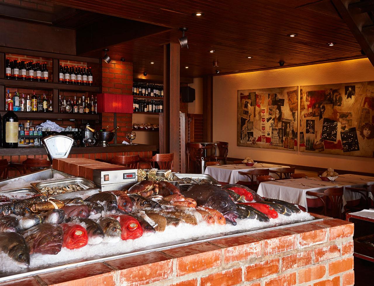 Doca do Peixe - Restaurant Poissons et Crustaces - Lisbonne - Alcantara