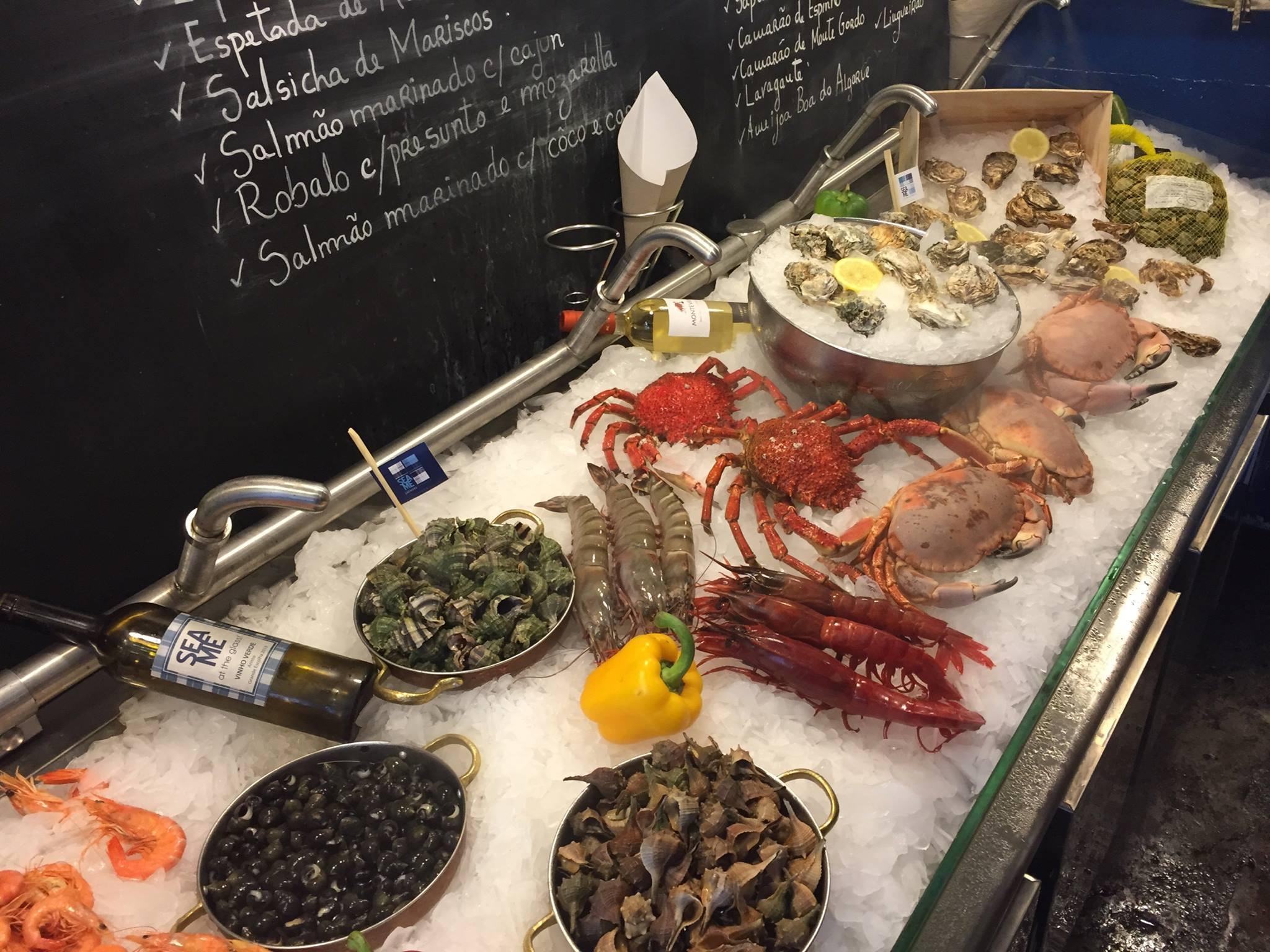 Sea Me - Peixaria Moderna - Grand choix de poissons et crustaces - Restaurant Lisbonne