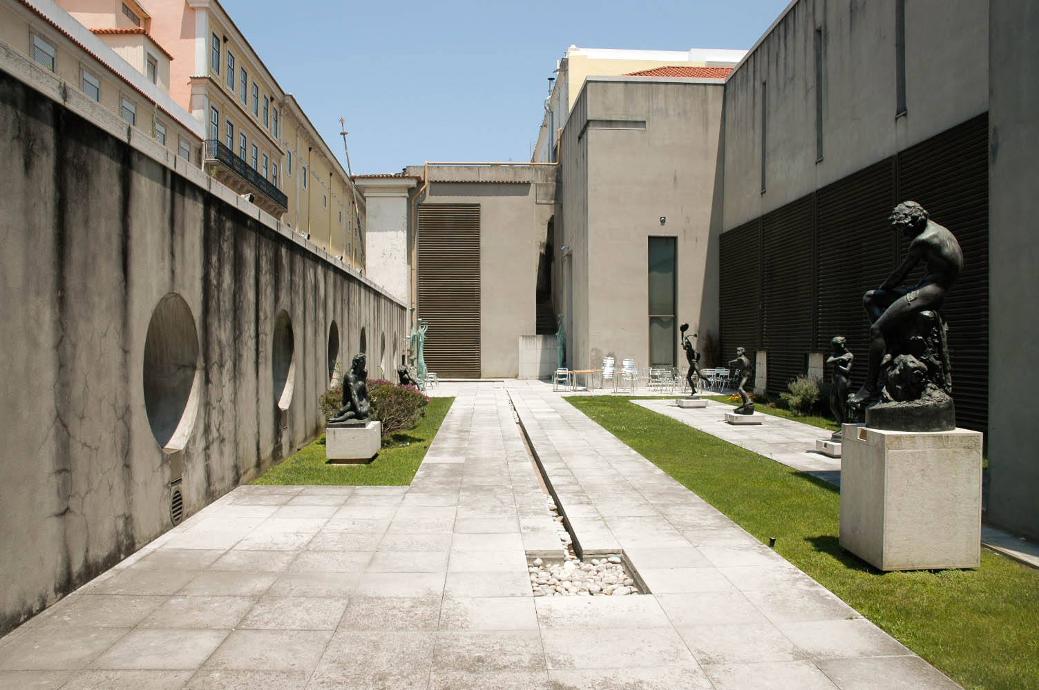 Exterieur du Musee du Chiado - Lisbonne - Photo flickr de Vasco Cortez