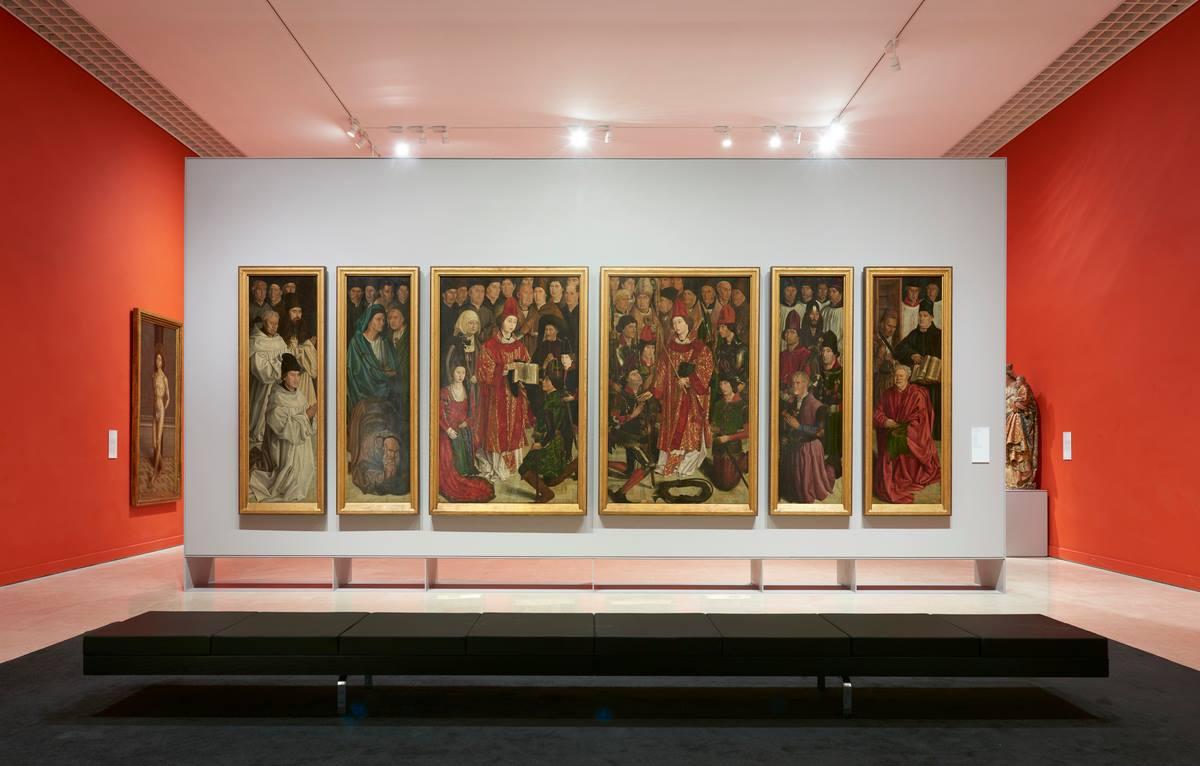 Polyptique de Sao Vicente de Fora - Saint Vincent - Musee National des Arts Anciens - Lisbonne - Museu da Arte Antiga - Lisboa