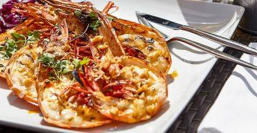 Crevettes Tigres du Mozambique - Restaurant Zambeze - Lisbonne