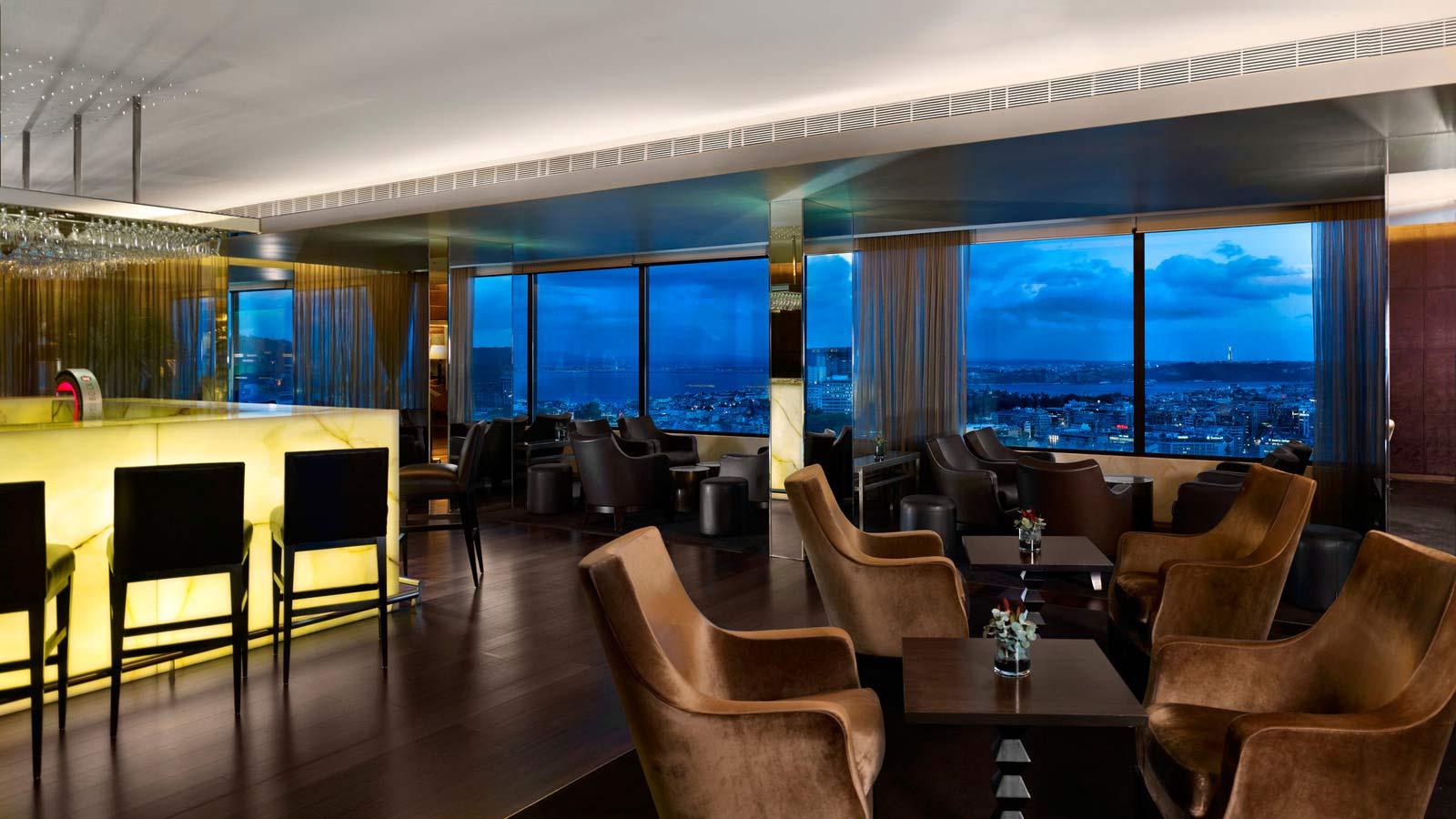 Panorama Bar - Bar Panoramique - Hotel Sheraton - Lisbonne