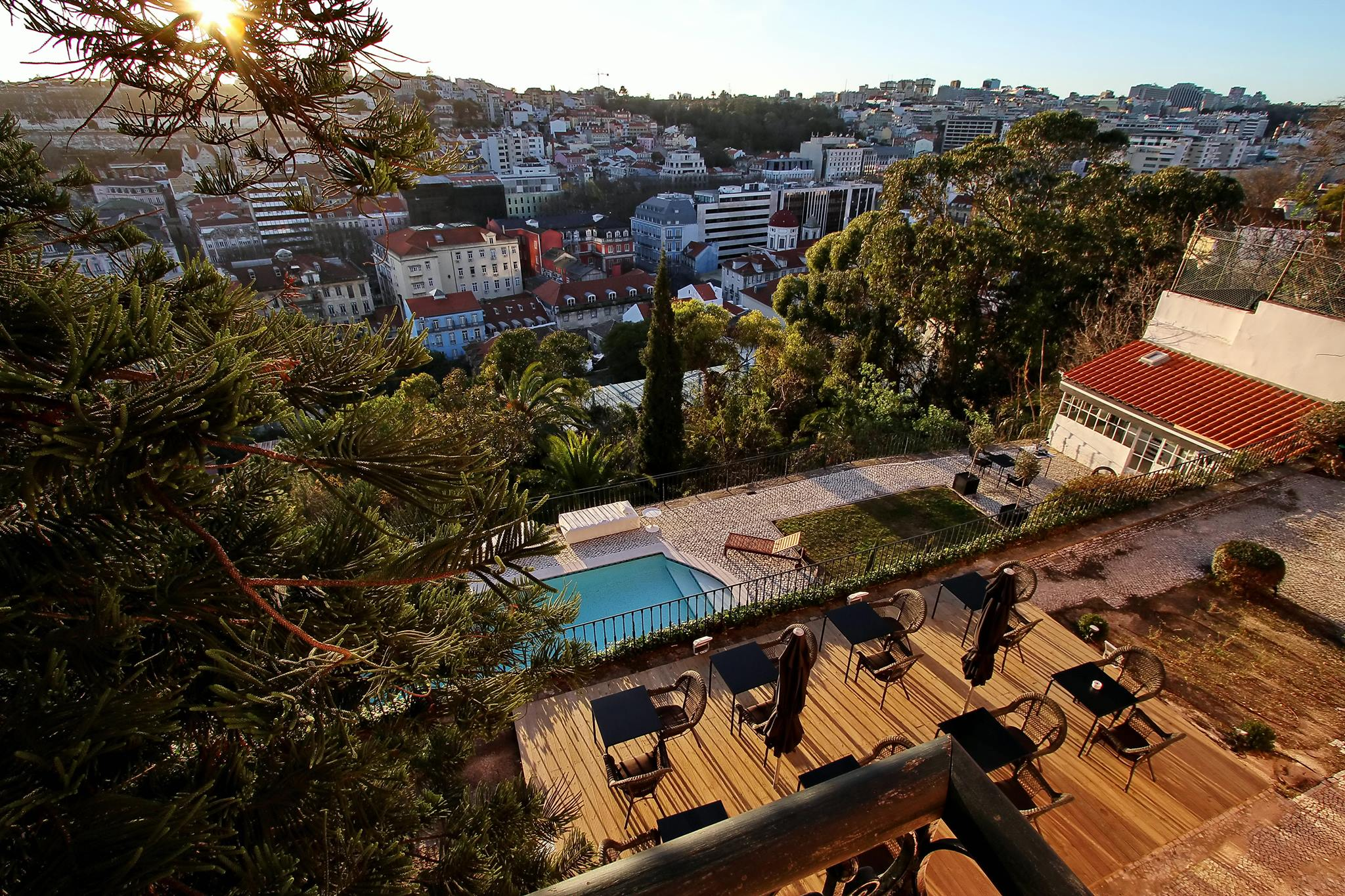 Terraco 23 - Bar Terrasse de Torel Palace - Lisbonne