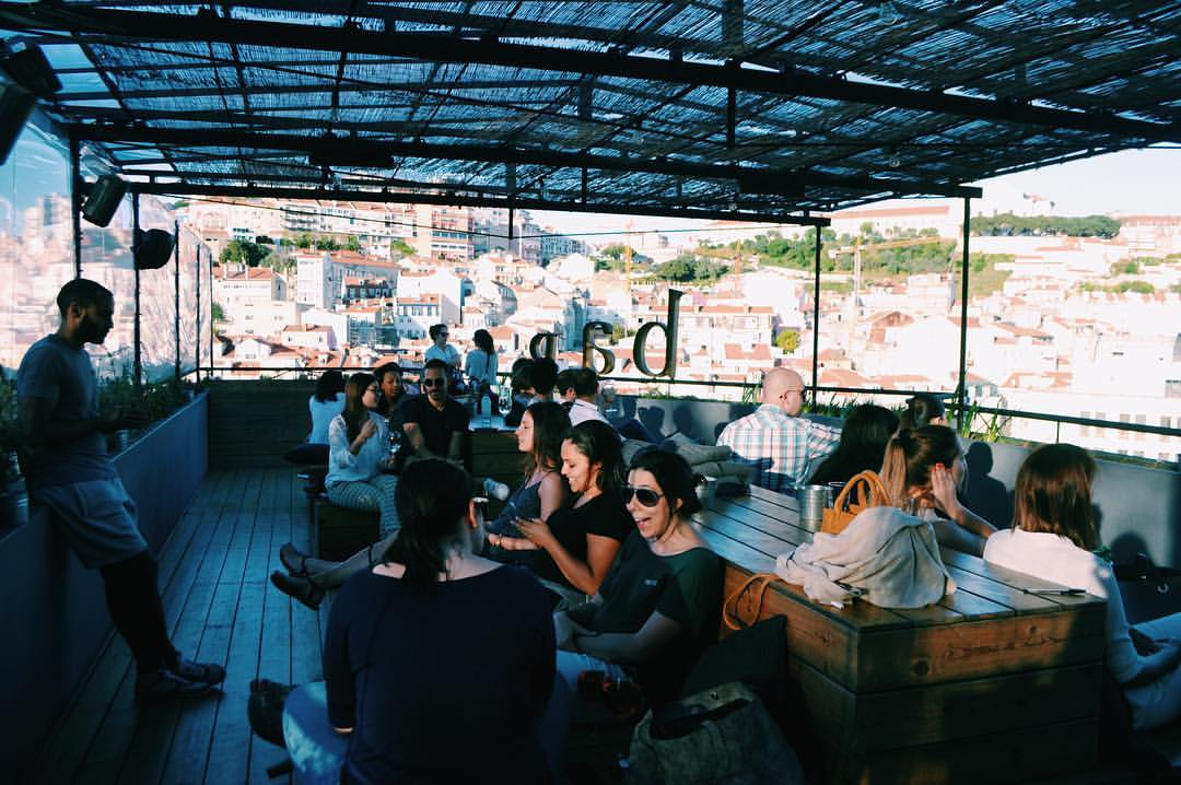 Topo Martim Moniz - Bar Rooftop Terrasse - Lisbonne