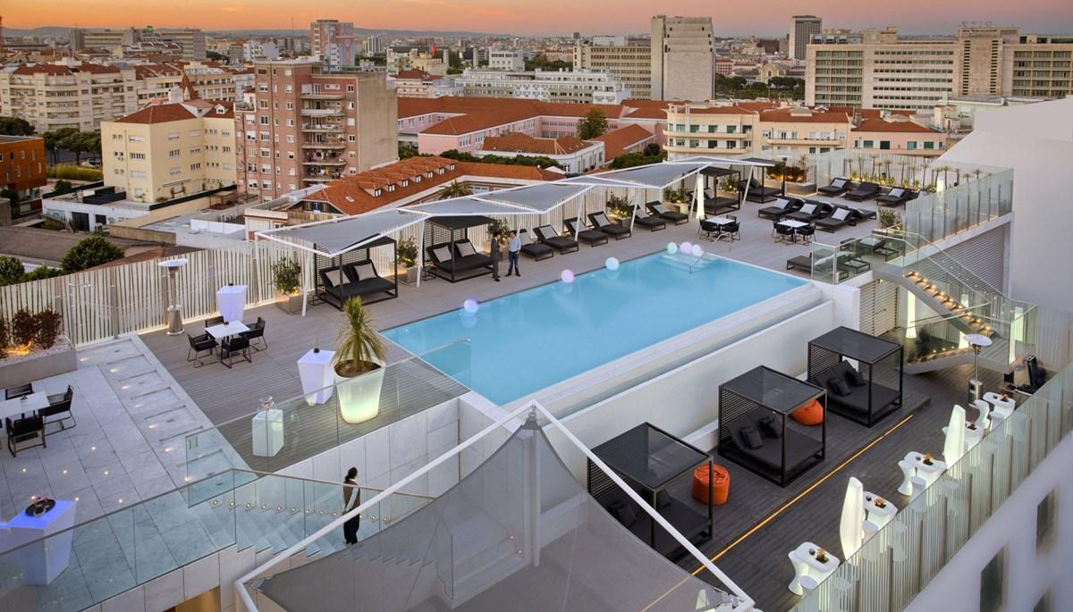 UpScale Bar - Terrasse Rooftop - Epic Sana Hotel - Lisbonne