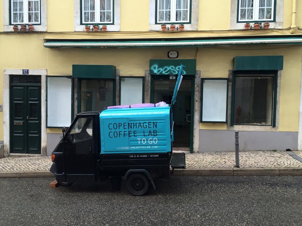 Copenhagen Cofee Lab - Food truck cafe - Lisbonne - Street Food