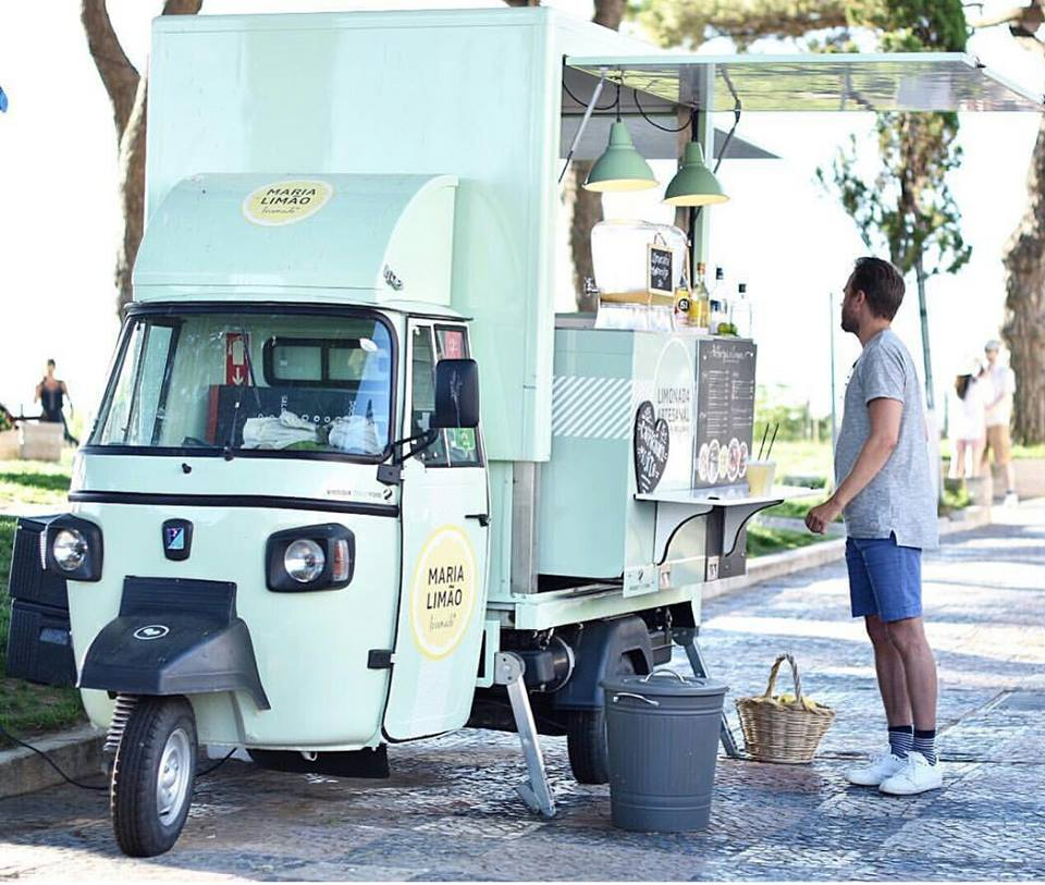 Foodtruck Maria Limao - Limonades - snacks - patisseries - streetfood - Lisbonne