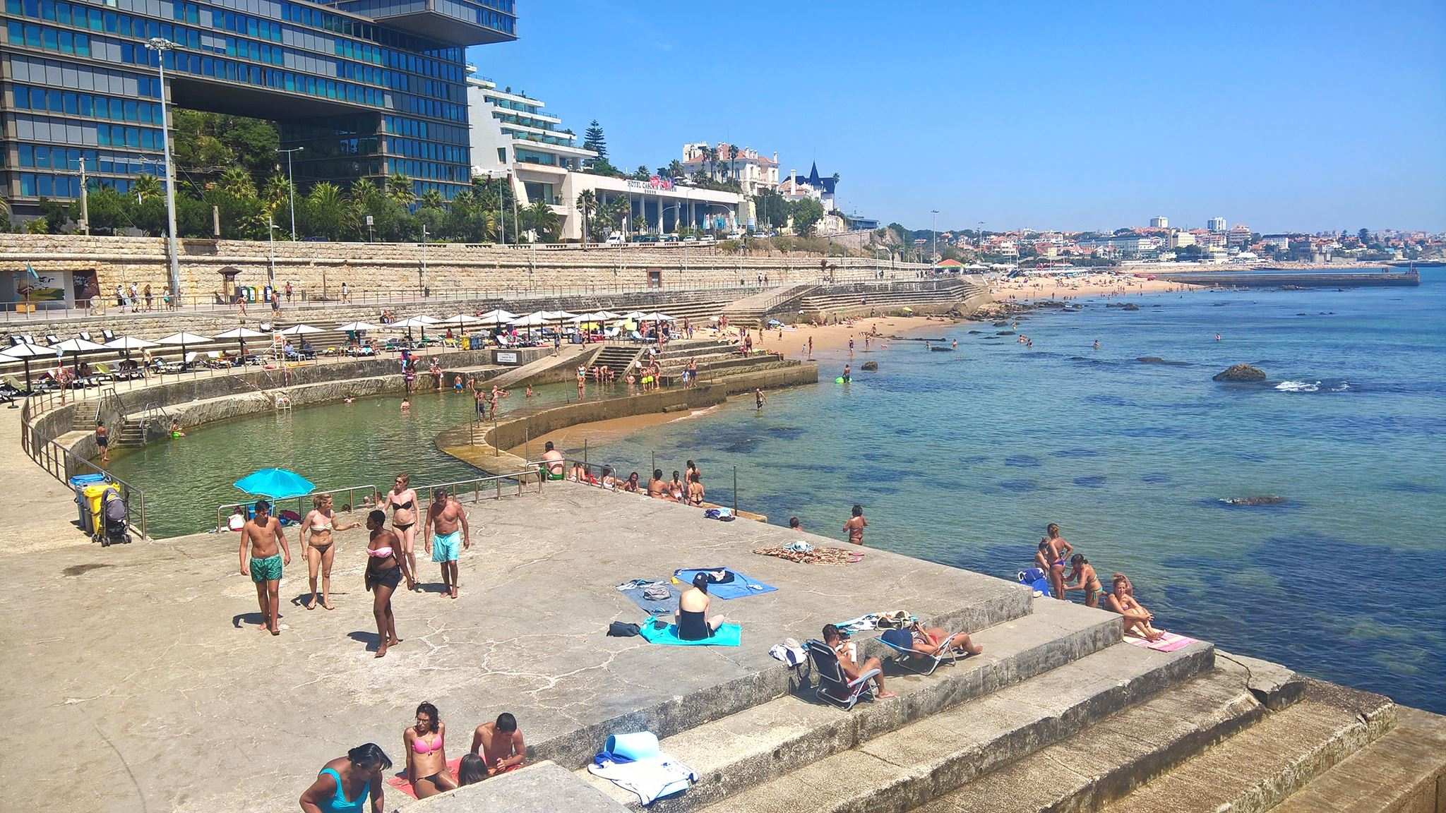 Les meilleures piscines de lisbonne et sa r gion oeiras for Piscine lisbonne