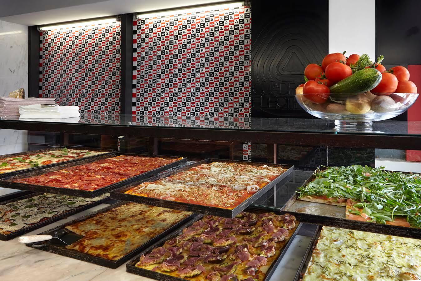 Pizza a Pezzi - Pizzas au poids - Street Food - Lisbonne - Principe Real