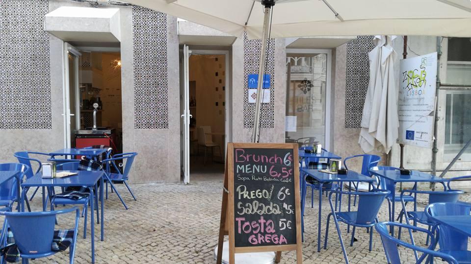 Tiles Bar - Restaurant - Bar - Quartier Intendente - Lisbonne