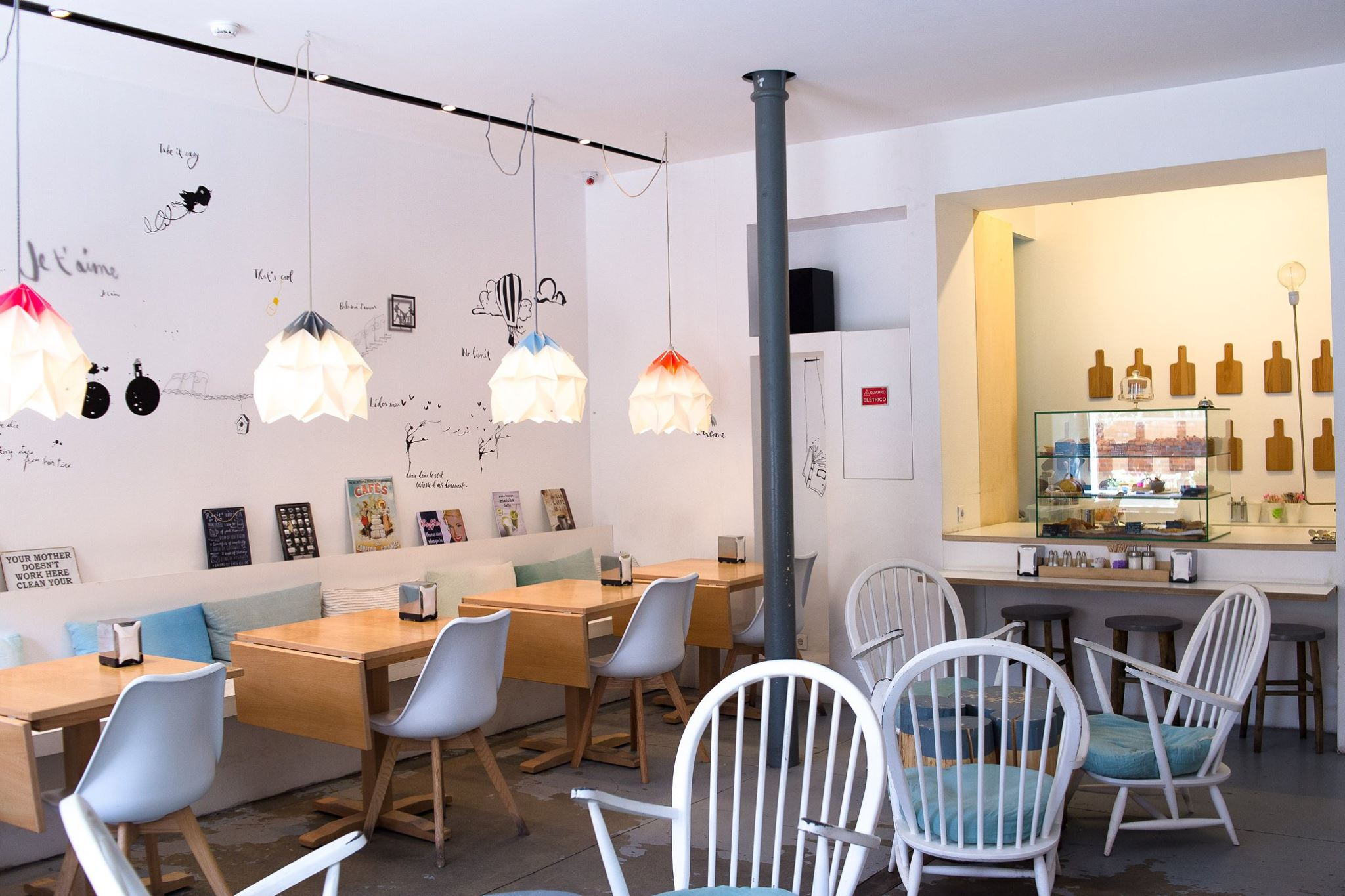 WISH Slow Coffee House - Bar Cafe - LX Factory - Lisbonne
