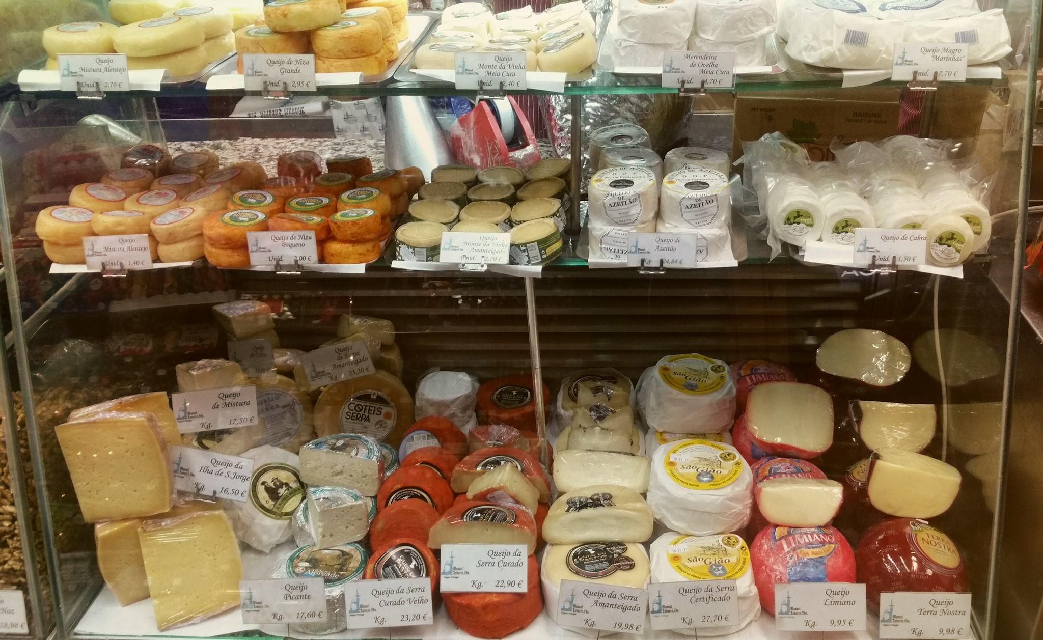 Comptoir fromages epicerie fine - Manuel Tavares - Centre - Lisbonne