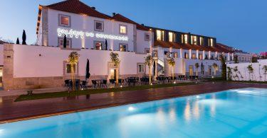 Terrasse exterieure du Occasus Bar - Palacio do Governador - Hotel 5 etoiles - Lisbonne