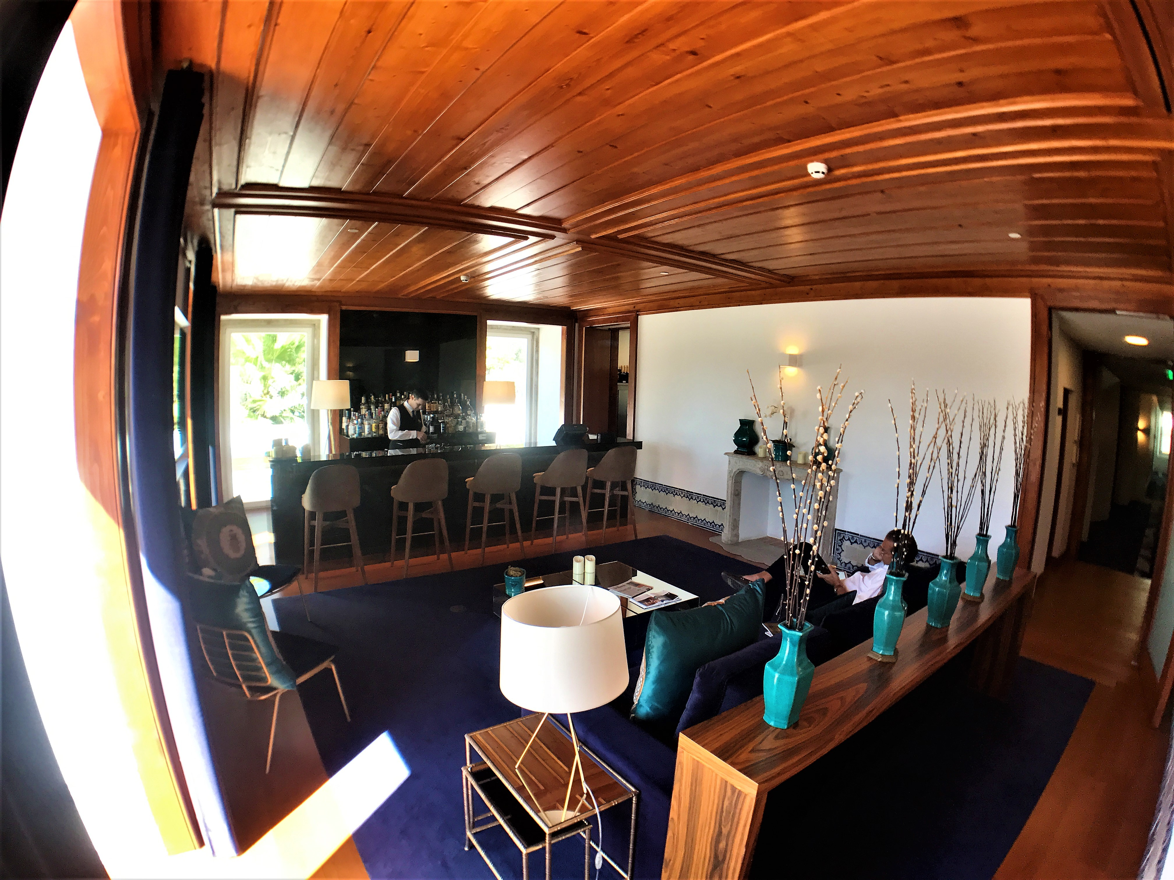 Occasus Bar - Hotel 5 etoiles Palacio do Governador - Lisbonne