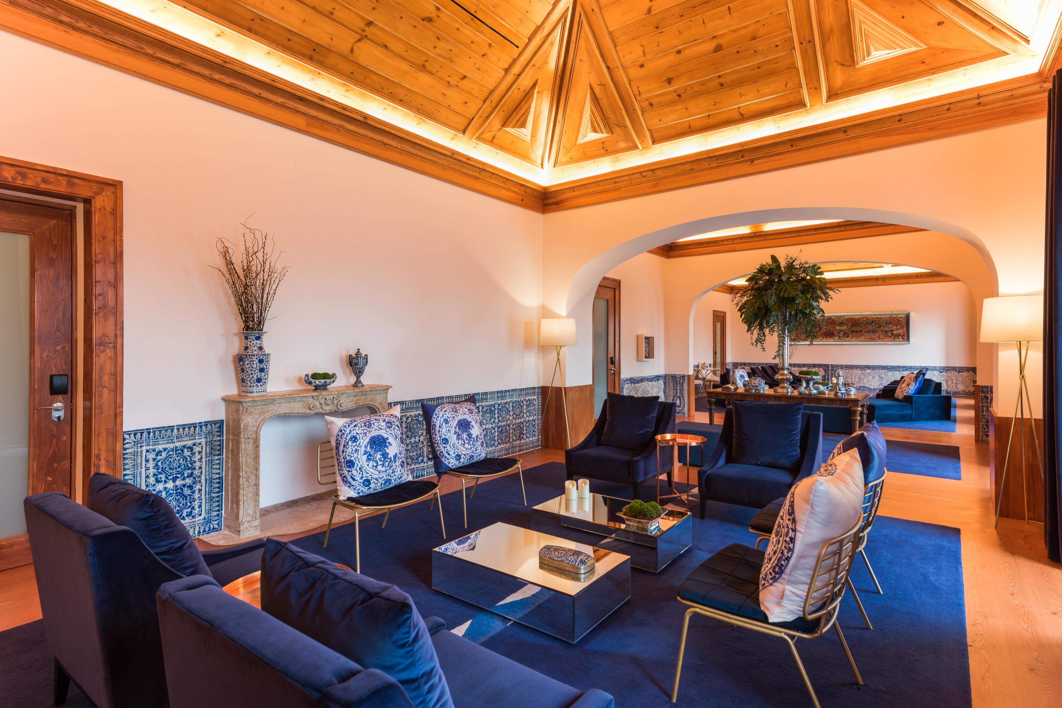 Salon Principal du Palacio do Governador - Hotel 5 etoiles - Lisbonne