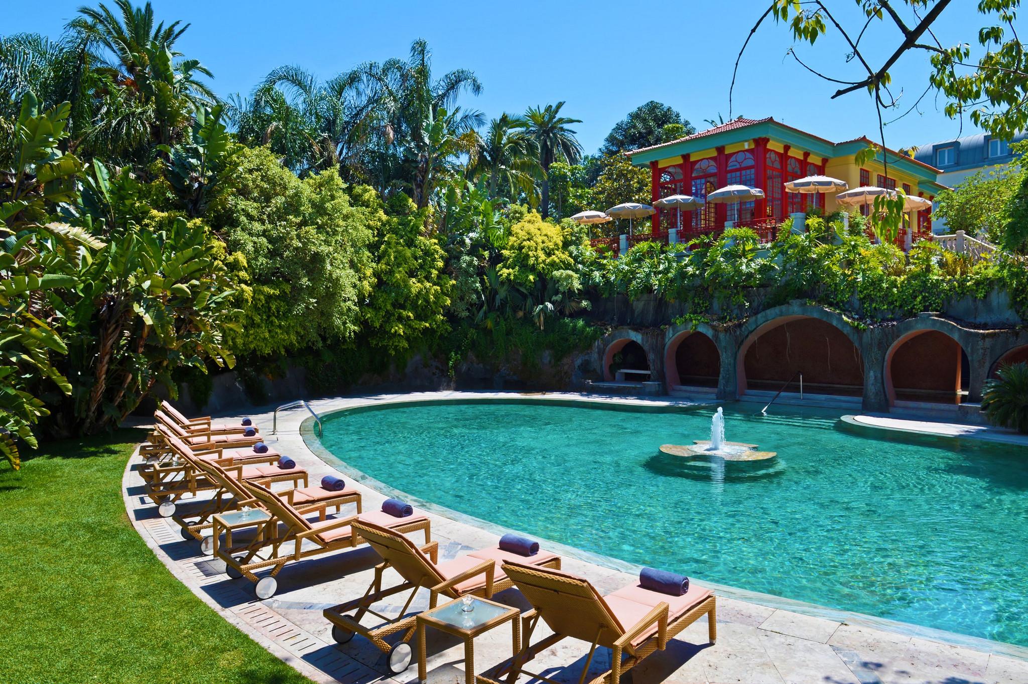 Les meilleurs spas de lisbonne week end et voyage lisbonne for Hotel design piscine lisbonne